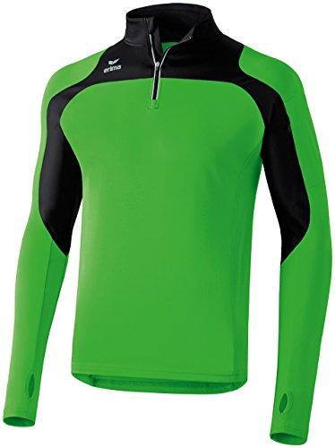 erima Erwachsene Running Longsleeve Race Line, Green/Schwarz, XXXL, 833505 Preisvergleich
