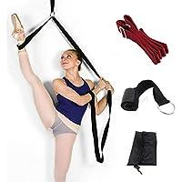 Bein Keilrahmen, mehr flexibel mit der Tür Flexibilität Trainer, Premium Stretching Equipment für Ballett, Tanz, Gymnastik, Taekwondo und MMA. Ihre eigenen Tragbare Stretch Maschine.–inpay (rot)