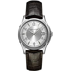 Hamilton Men Analogue Watch with Metallic Dial Analogue