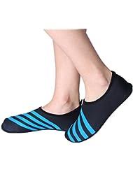 Unisex, Zapatos de Agua - Calcetínes de Buceo Descalzo Zapatos Secado Rápida Transpirable para Playa Surf Yoga Natación (37-41) ( tamaño : L )