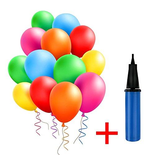 OCMCMO 100 Ballons Colorés avec ...