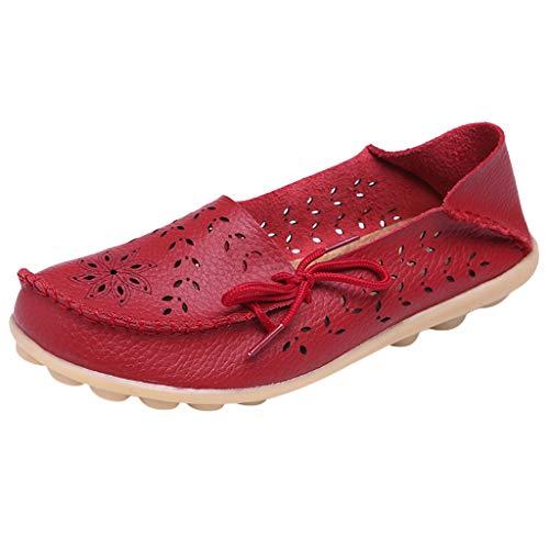 (Suitray Damen Schuhe Mode Sommer Anti-Rutsch Flache Schuhe Mary Jane Halbschuhe Slipper Mokassins Freizeitschuhe Mädchen Streetwear Schuhe Hausschuhe Espadrilles Sneaker Pumps Slipper)