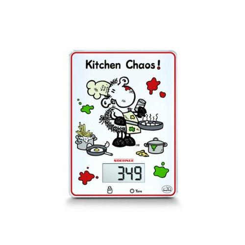 "Soehnle 66194 - Bilancia digitale da cucina ""Sheepworld Kitchen Chaos"""