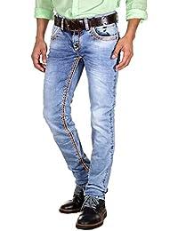Bright - Jeans - Homme Bleu Bleu
