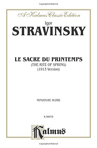 le-sacre-du-printemps-the-rite-of-spring-miniature-score-miniature-score-kalmus-edition