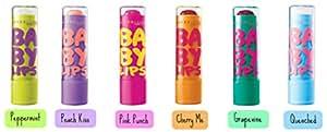 Maybelline Baby Lips Lot de 6 mini baumes à lèvres hydratants