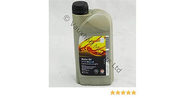 Vauxhall Sae 5 30 5w30 Dexos 2 1 L Nachfüllen Öl Mit Langer Lebensdauer Auto