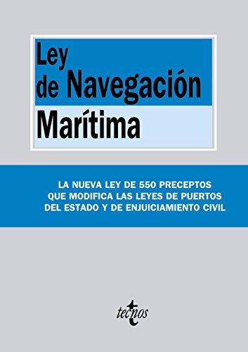 Ley de la Navegación Marítima (Derecho - Biblioteca De Textos Legales) por Editorial Tecnos