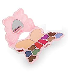 ADS 3D MAKEUP KIT 8 EYESHADOW 2 BLUSHER 2 COMPACT POWDER 4 LIPCOLOR