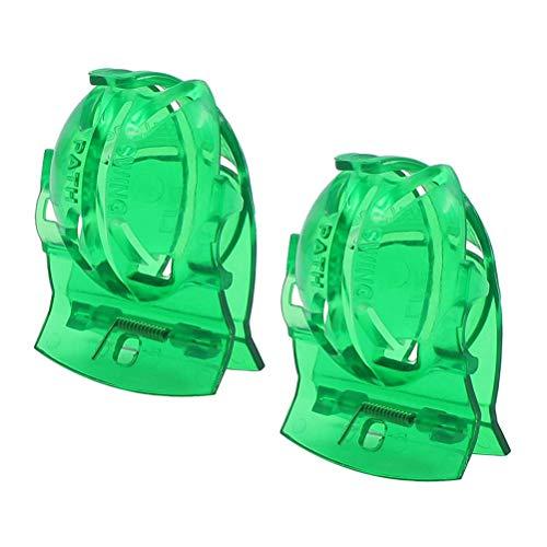 Weesey 2 STÜCKE Golfball Marker, Golfball Alignment Scribe Liefert Golf Zubehör -