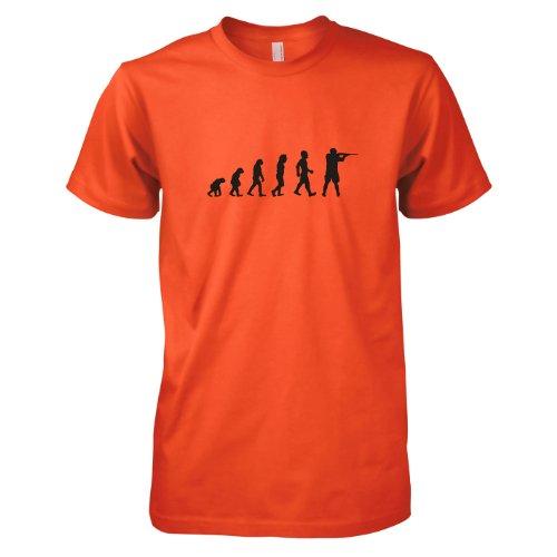 TEXLAB - Jäger Evolution - Herren T-Shirt, Größe XXL, orange