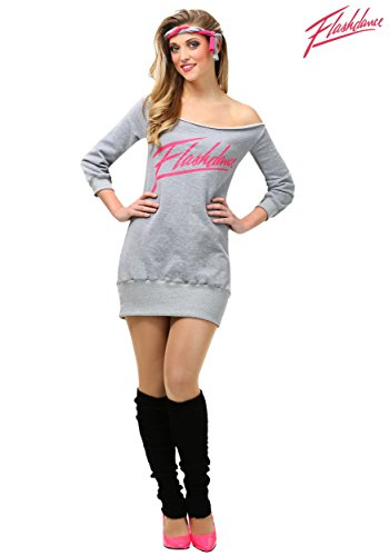 Women's Plus Size Flashdance Fancy dress costume