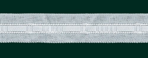 Ruther & Einenkel Kräuselband - Universalband - Reihband, 22 mm, weiß, var./ Aufmachung 20 m
