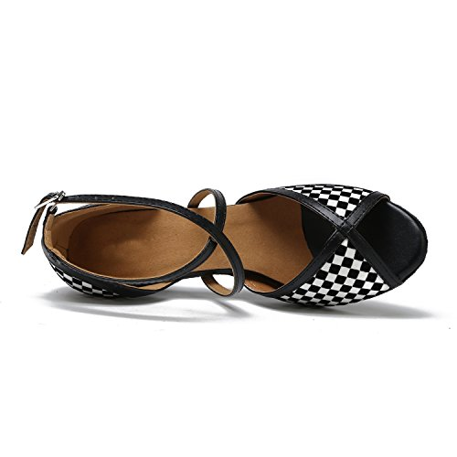Minitoo - Ballroom donna Black-7.5cm Heel