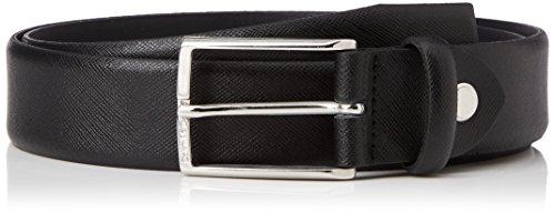 Calvin Klein Justin 2 Saffiano Adjustable Belt, Ceinture Homme, Noir-(Black), 110