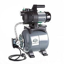 Ultranatura Hauswasserwerk AW-100, 800 Watt, Druckerhöhungsanlage mit Druckbehälter