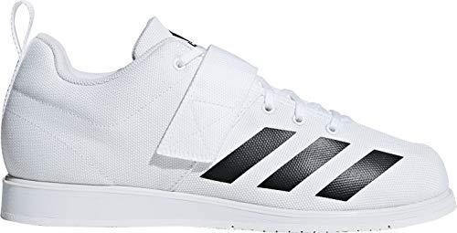 adidas Herren Powerlift 4 Fitnessschuhe Weiß Core Black/FTWR White, 44 EU