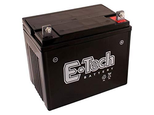 Batterie 12V 22Ah (+ Pol Rechts) passend Husqvarna CTH126 Rasentraktor