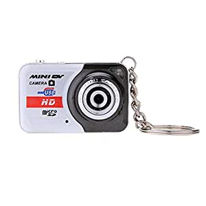 Andoer X 6 Portable Ultra Mini HD haute Denifition Digital Camera Mini DV supporte 32 GB TF carte avec Mic
