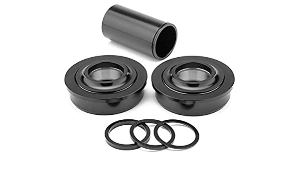 MISSION 19MM BLACK BMX BICYCLE BOTTOM BRACKET ADJUSTMENT WASHERS