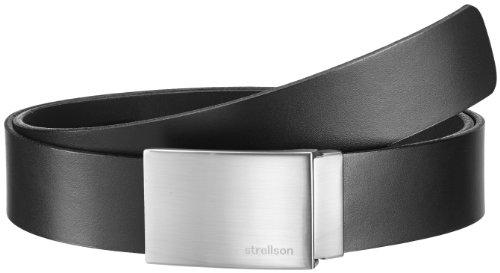 Strellson Premium Herren Gürtel 3500, Gr. 115, Schwarz (10)
