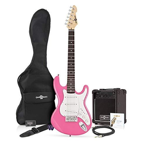 Chitarra Elettrica LA 3/4 + Bundle Amplificatore 10W Rosa