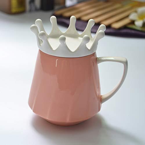 dfhdfsg Kreative Becher Keramik Farbe Erde Keramik Geschenk Keramik Tasse Krone Göttin Tasse Orange Rot - Krone Logo Tee