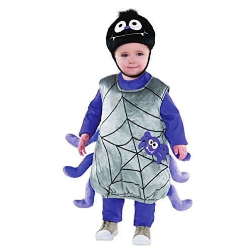 Itsy Bitsy Spider Baby Toddler Fancy Dress Plush Soft Toy Costume Halloween Boys Girls SMALL 1-2 Years by Amscan