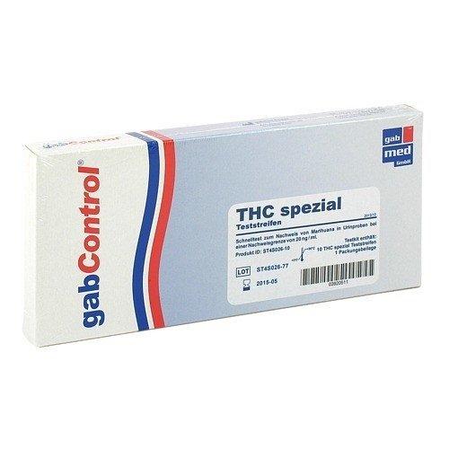 Drogentest Thc 20 spezial Teststreifen 10 stk
