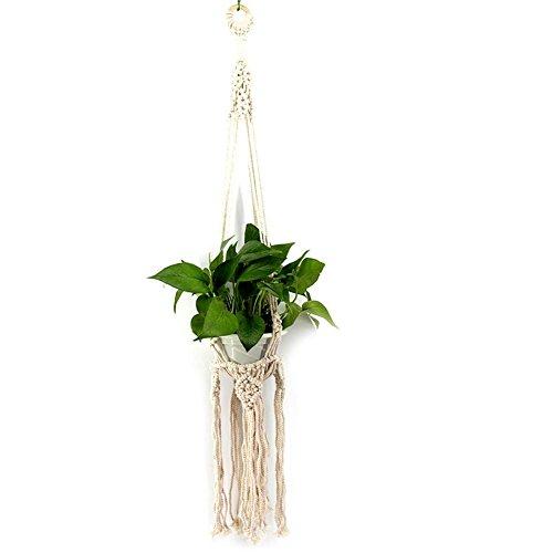 Unbekannt Star Eleven Puppenhaus handgeflochten Hängedeko Blumenkorb Ornament Wanddeko Netztasche Unbekannte Star