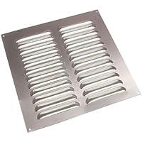 Aluminium Louvre Air Vent Ventilator Grille Abdeckung 9 X 9 225mm X 225mm