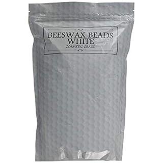 Perles Raffinées Blanches De Cire D'Abeille 1 kg