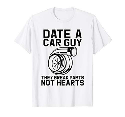 Datum Ein Auto Guy Sie brechen Teile Nicht Auto Mechaniker T-Shirt -