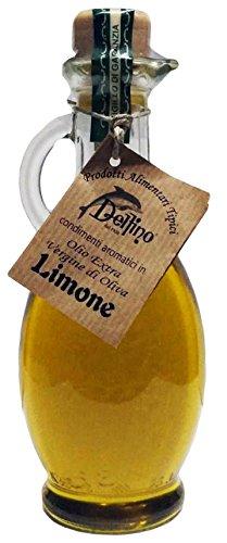 Olio extravergine di oliva aromatizzato al limone 250ml - delfino battista