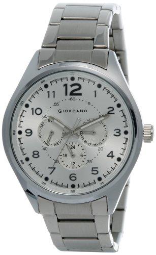 Giordano Analog Silver Dial Men's Watch - DTLMM 60064-22