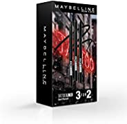 Maybelline New York Tattoo Liner 3F2 Black Set