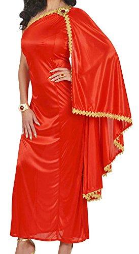 Für Kaiserin Erwachsene Damen Kostüm Römische - Widmann wdm56092-Kostüm für Erwachsene römische Kaiserin, Rot, M