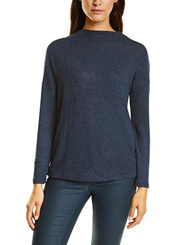 Street One Damen Pullover 311569 Lena Blau (Endlessly Blue Melange 11113), 42