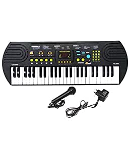 Canto 49 Key Electronic Keyboard Piano with Recording and Microphone