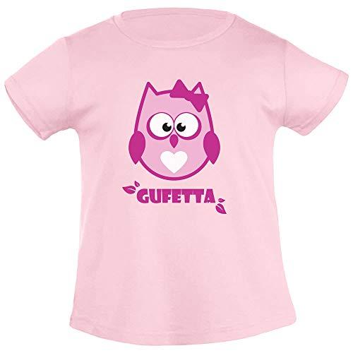 Gufetta Idea Regalo Dolce per Bambine T Shirt Maglietta Bambina