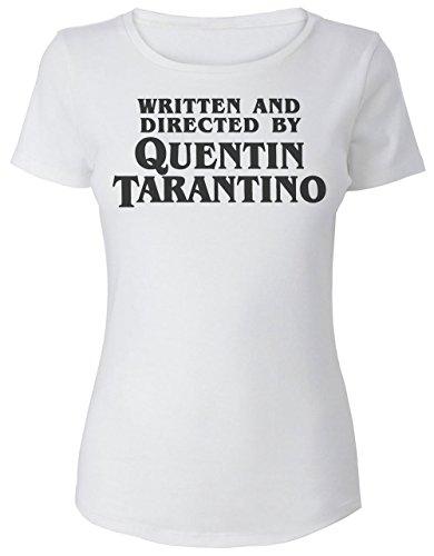 Written and Directed by Quentin Tarantino Damen T-Shirt Medium