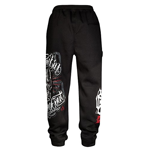 Blood In Blood Out -  Pantaloni sportivi  - Uomo Nero