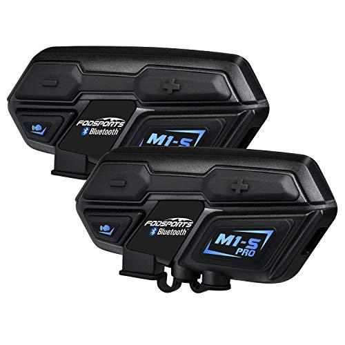 Moto Intercom Bluetooth 4.1 Auricular Auricular Communication Systems Kit, prend en Carga...