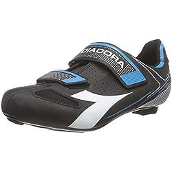 DiadoraPHANTOM II - Zapatos de Ciclismo de Carretera Unisex Adulto, Color Negro, Talla 39 UE