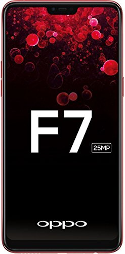 OPPO F7 (Red, 128GB) with Offers