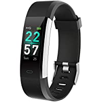 Yakuin Fitness Bracelet Activity Tracker Smartwatch with Heart Rate Monitor Waterproof