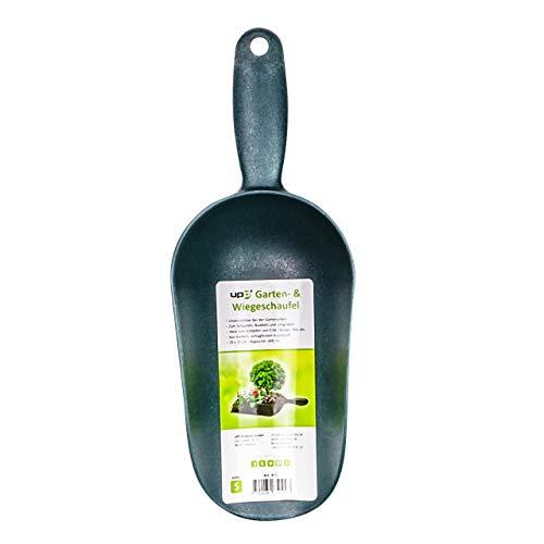 UPP Garten- und Wiegeschaufel | LEBENSMITTELECHT ideal als Futterschaufel, Schütten für Mehl und Zucker | Schaufel für Erde, Samen und Dünger [600 ml]