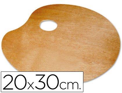 Liderpapel A15442 - Paleta madera, 20 x 30 cm