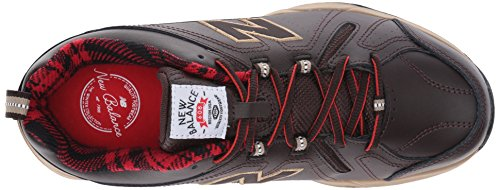 New Balance Men's MX608V4 Training Shoe,Black,10 D US Dark Brown