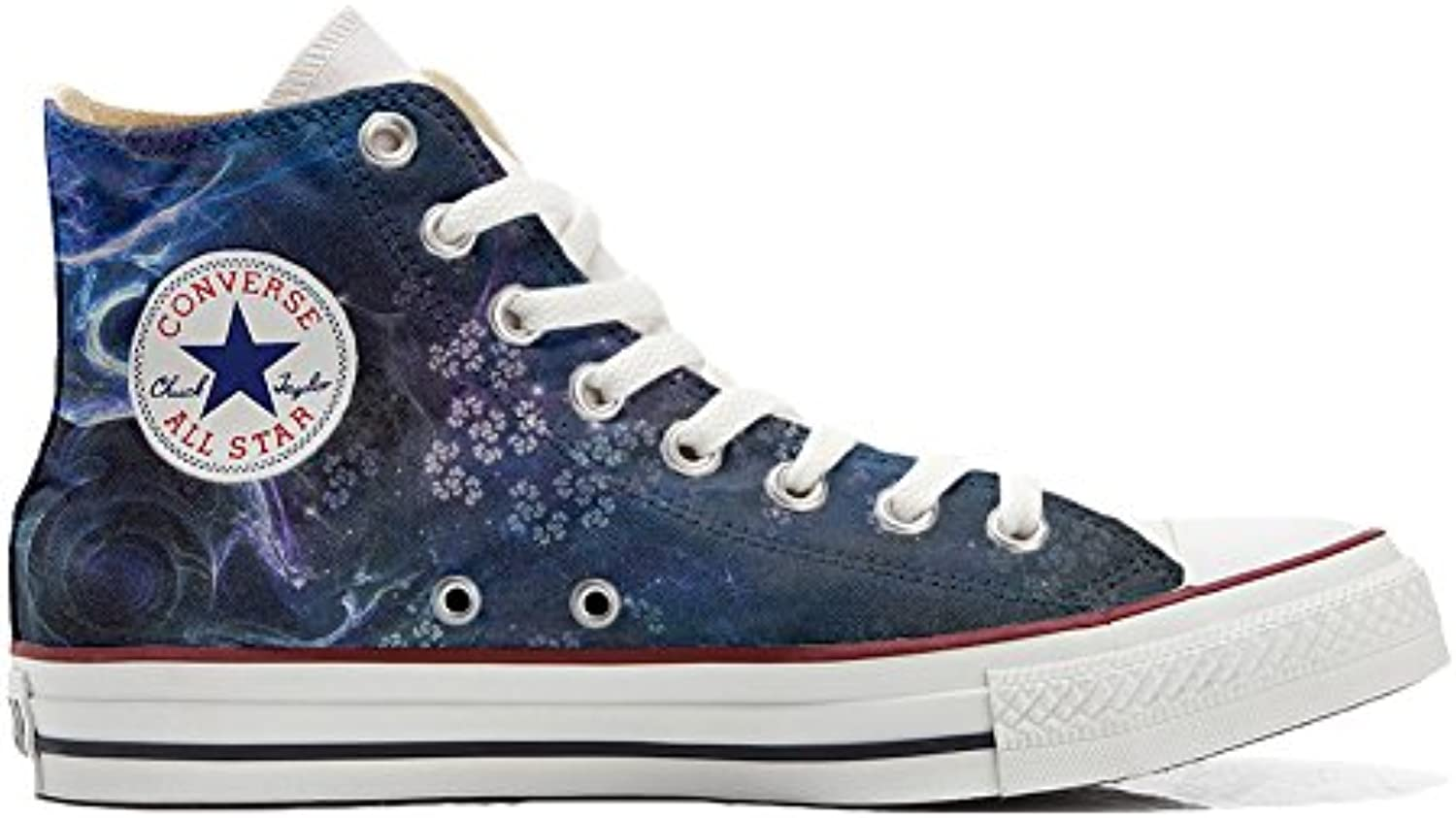 Converse All Star Zapatos Personalizados Unisex (Producto Handmade) Power Paisley -